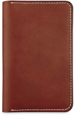 Red Wing Shoes Leather Passport Wallet
