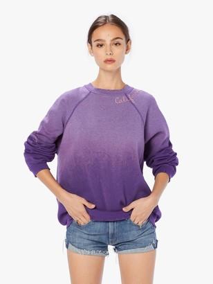 I Stole My Boyfriend's Shirt California Sweatshirt - Purple