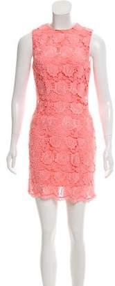 Christopher Kane Lace Mini Dress