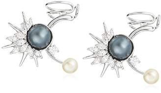 Danielle Nicole Emperor Pearl Ear Cuffs