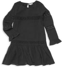 Ella Moss Girl's Crinkle Chiffon Dress