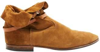 La Botte Gardiane Camel Suede Ankle boots