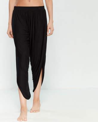 Laundry by Shelli Segal Open Side Drape Swim Cover-Up Pants