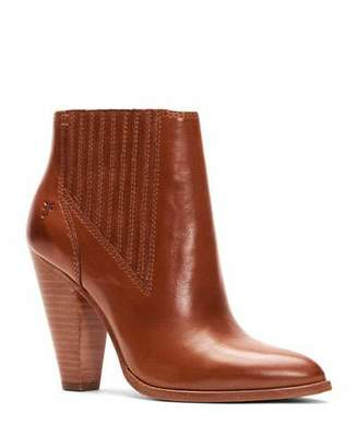 Frye Remy Heeled Leather Chelsea Booties