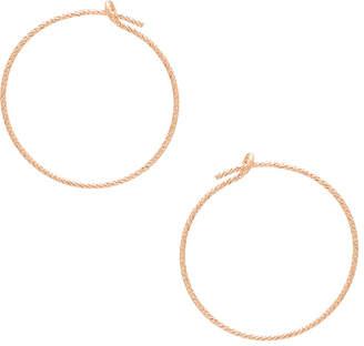 JLO by Jennifer Lopez EIGHT by GJENMI JEWELRY Small Hoop Earrings