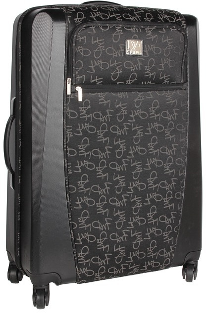 Diane von Furstenberg Signature Hybrid - 28 Spinner Suitcase (Black) - Bags and Luggage