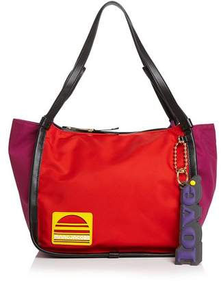 Marc Jacobs Large Color-Block Nylon Sport Tote
