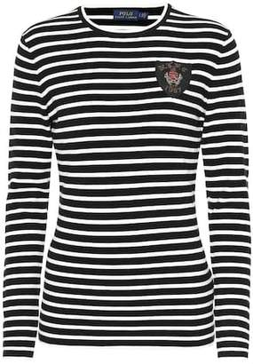 Polo Ralph Lauren Crest striped T-shirt