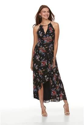 Petite Chaya Keyhole High-Low Maxi Dress