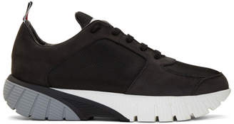 Thom Browne Black Raised Sneakers