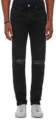 Frame Men's L'Homme Distressed Skinny Jeans