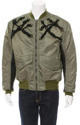 3.1 Phillip Lim Knotted Strap Bomber Jacket