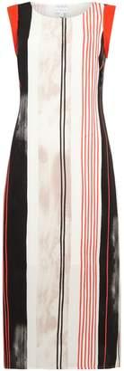 Linea Percy double print tie dress