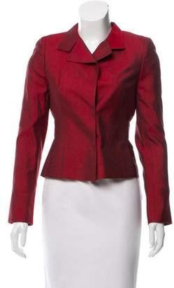 Akris Structured Silk Jacket
