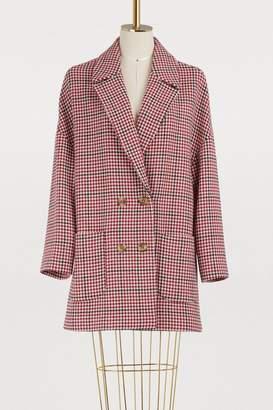 RED Valentino Tweed oversized coat