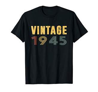 1945 Vintage Funny 73th Birthday Gift T Shirt