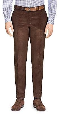 Isaia Men's Slim-Fit Corduroy Separate Trousers
