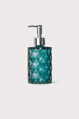H&M Glass Soap Dispenser - Turquoise