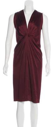 Rozae Nichols Sleeveless Satin Dress