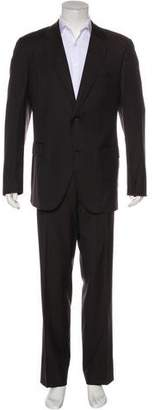 Dolce & Gabbana Striped Wool Suit