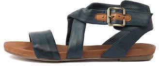 Django & Juliette New Jobby Denim Womens Shoes Casual Sandals Sandals Flat