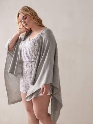 Knit Blanket Scarf - Addition Elle