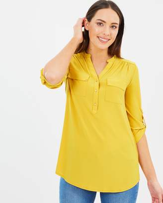 Wallis Longline Shirt