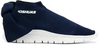 Joshua Sanders low top bow sock sneakers