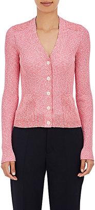 Maison Margiela Women's Rib-Knit Cardigan $1,095 thestylecure.com