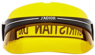 Christian Dior Yellow DiorClub1 Visor