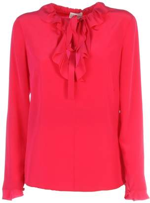RED Valentino Ruffled Detail Blouse