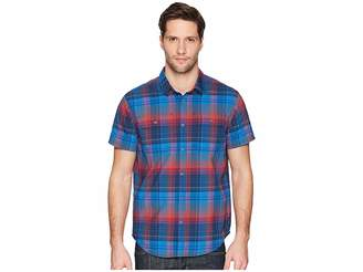 Prana Cayman Plaid Short Sleeve Men's Clothing