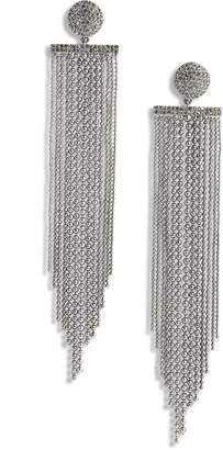 Kate Spade Glimmer Shimmer Fringe Earrings