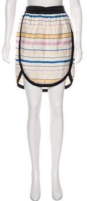 Etoile Isabel Marant Silk Knee-Length Skirt w/ Tags
