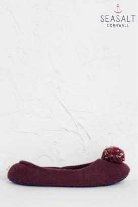 Womens Seasalt Purple Contentment Slippers - Purple