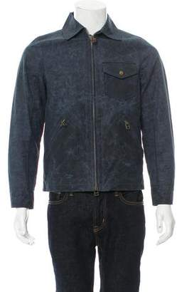 Jack Spade Deconstructed Zip-Front Jacket w/ Tags