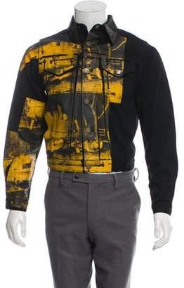 Calvin Klein x Andy Warhol Printed Denim Jacket w/ Tags