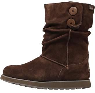 Skechers Womens Keepsakes Freezing Temps Boots Chocolate
