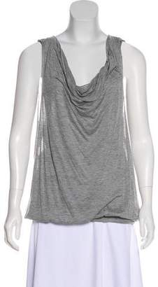 Yigal Azrouel Sleeveless Cowl Neck Tunic