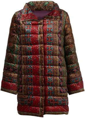 Etro embroidered puffer jacket