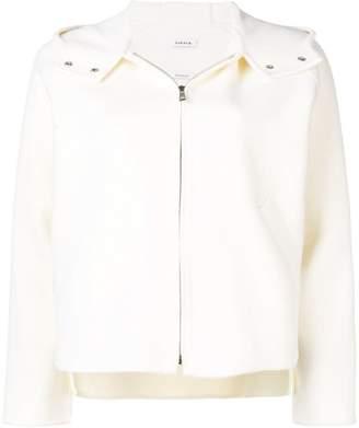 P.A.R.O.S.H. zipped hooded jacket