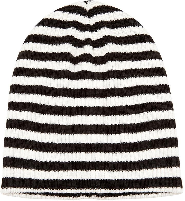 Topshop Stripe Beanie