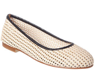 French Sole Appletini Leather Flat