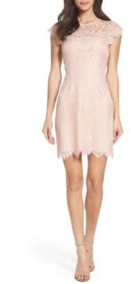 Women's Bb Dakota Jayce Lace Sheath Dress $100 thestylecure.com