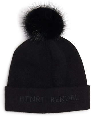 Henri Bendel Iconic Cashmere Beanie