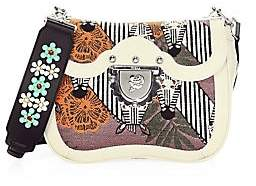 Furla Women's Ducale Embroidered Crossbody Bag