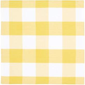 Linen House Mina 4-Piece Napkin Set, Pineapple
