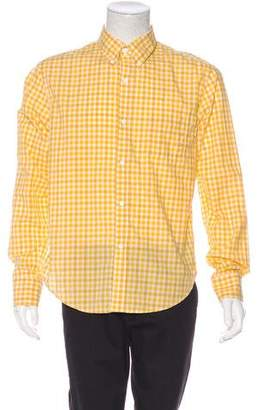 Band Of Outsiders Woven Gingham Shirt