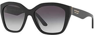Burberry Women's 0BE4261 Black/Grey Gradient One
