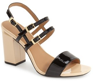 Calvin Klein 'Caisiey' Block Heel Sandal $99.95 thestylecure.com